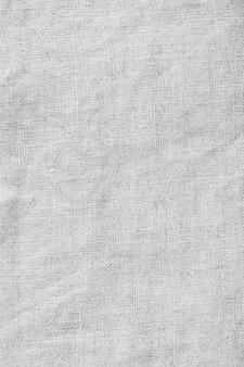 Tela di lino grigia. l'immagine di sfondo, la trama. trama di lino naturale per lo sfondo.