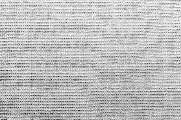Tessuto grigio tipo stuoia in cotone naturale come sfondo