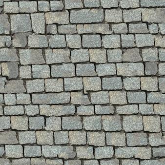 Struttura senza giunte del blocco di pietra grigia.
