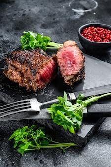 Roastbeef alla griglia o bistecca newyorkese