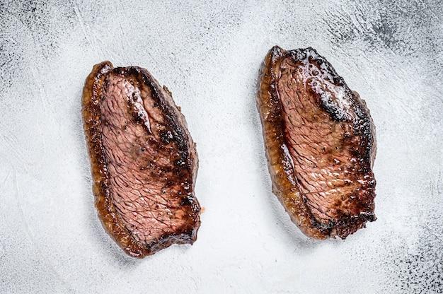Cappuccio di controfiletto alla griglia o bistecca di picanha