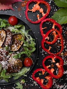 Verdure grigliate cibo sano una corretta alimentazione