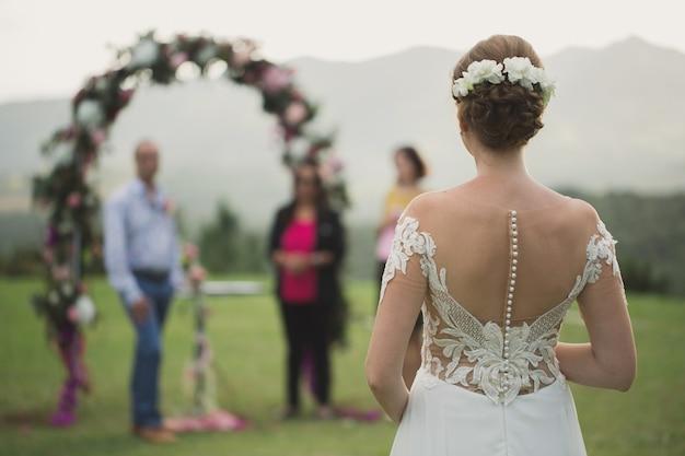Cerimonia della sposa dello sposo