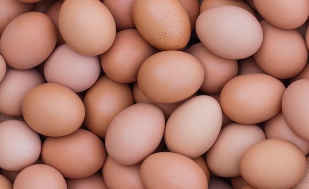 Gruppo di uova di buona qualità