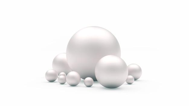 Un gruppo di sfere o perle