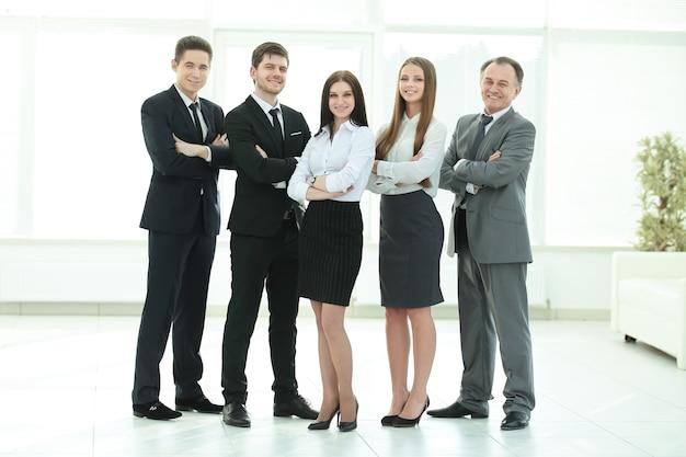 Un gruppo di uomini d'affari di successo