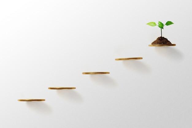 Concetto di crescita aziendale.