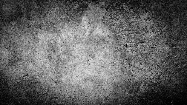 Fondo di lerciume della priorità bassa di struttura della parete in bianco e nero