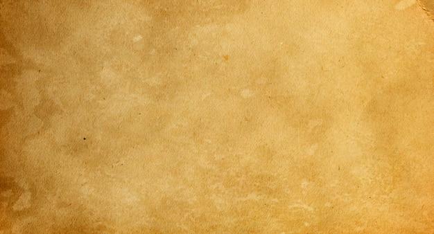 Sfondo grunge di vecchia carta marrone vintage