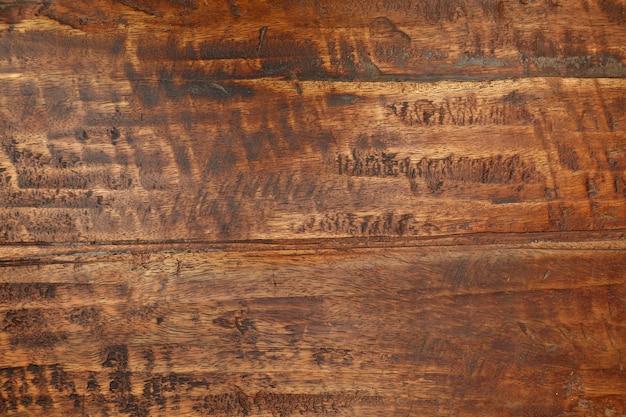 Trama di sfondo grunge di legno marrone