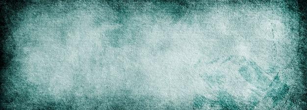 Texture di carta vintage blu di sfondo banner grunge per design e testo