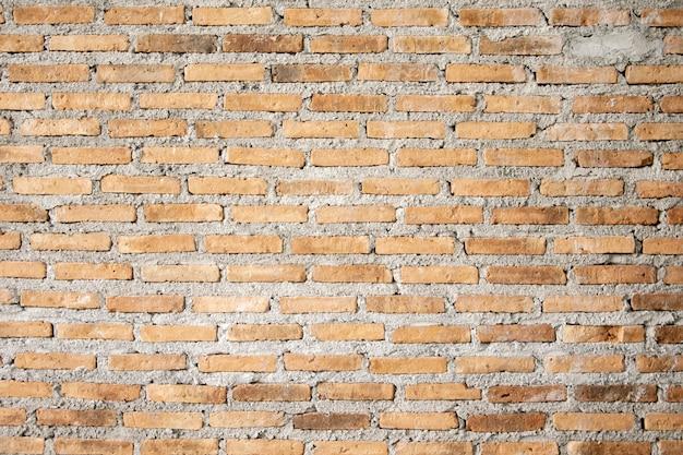 Struttura e fondo del muro di mattoni di lerciume.