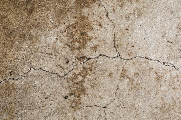 Fondo strutturato concreto marrone di lerciume