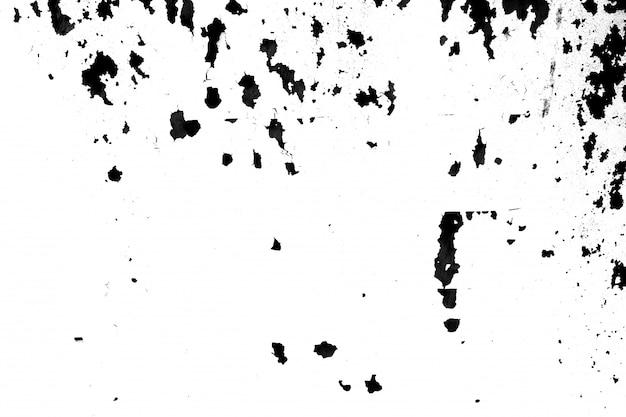 Struttura in bianco e nero del graffio del metallo e della polvere di lerciume