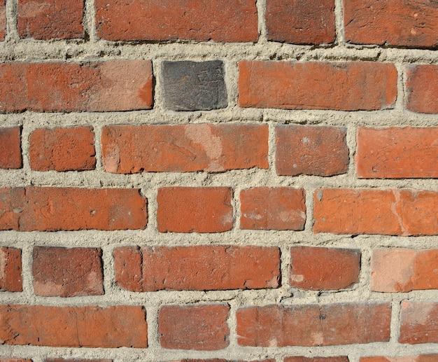 Vecchio fondo di struttura del muro di mattoni di lerciume