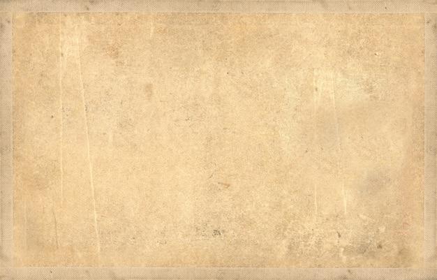 Vecchia carta beige sporca di lerciume