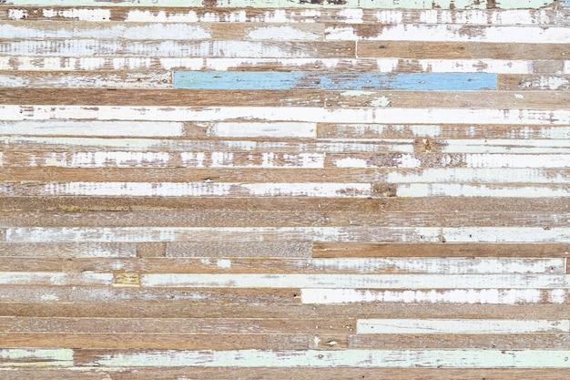 Fondo strutturato della vecchia vernice misera di legno di lerciume.