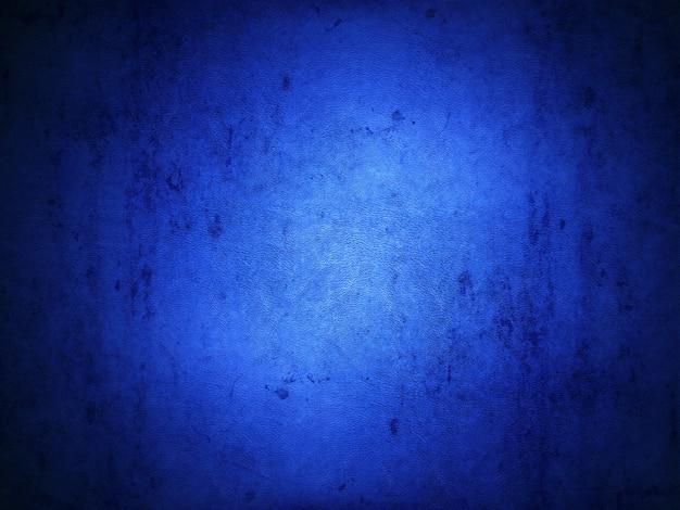 Sfondo blu in stile grunge con una trama in pelle