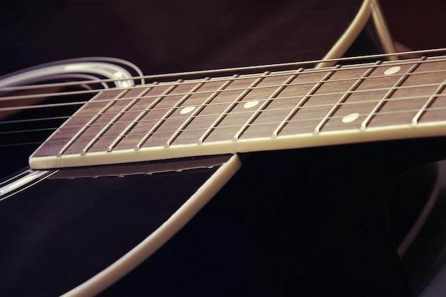 Chitarra in stile vintage