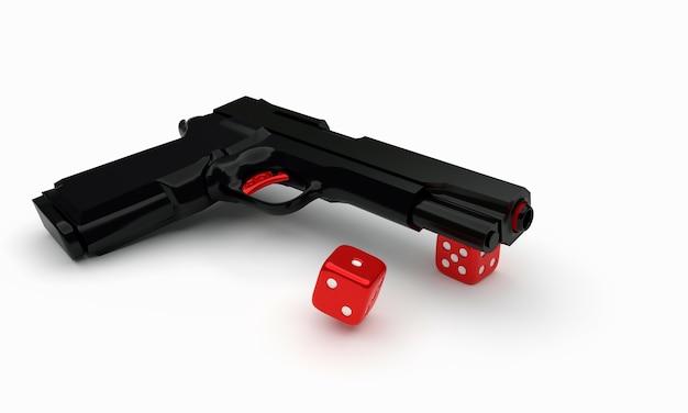 Pistola e dadi