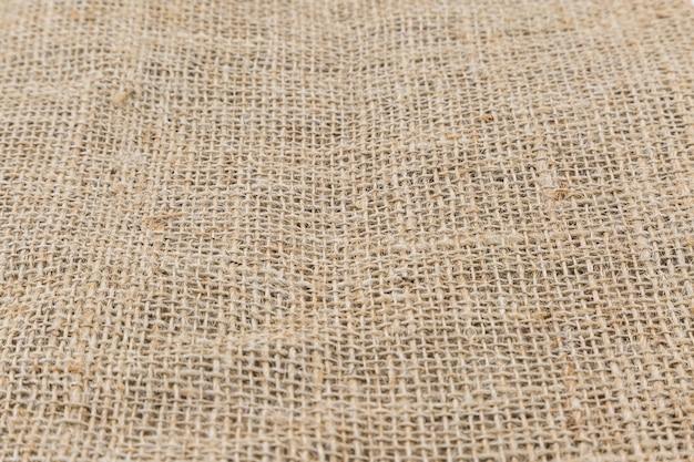 Sacco di iuta, hessian texture da fibre naturali utilizzare per lo sfondo
