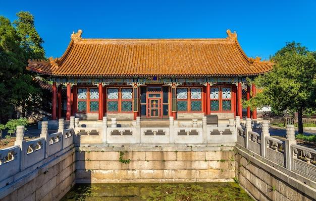 La hall of finest jade al palazzo d'estate a pechino - cina