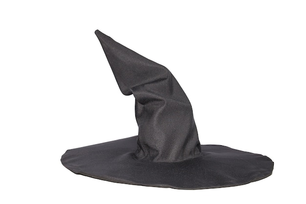 Accessori di halloween, cappello da strega nero
