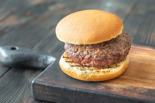 Hamburger sul tagliere