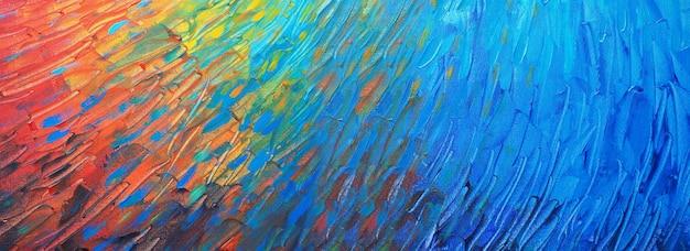 Disegnato a mano pittura colorata arte astratta panorama sfondo colori texture design illustrazione