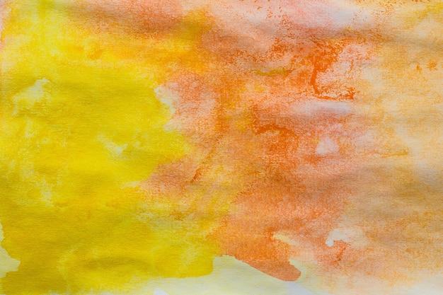 Trama di sfondo acquerello colorato astratto dipinto a mano