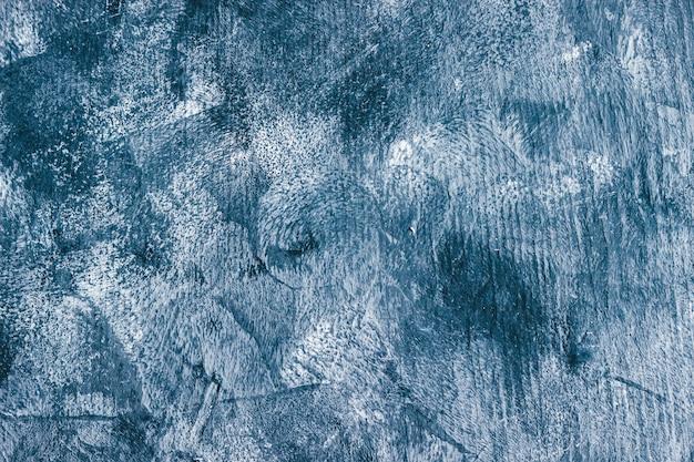 Struttura di pietra bianca e blu dipinta a mano.