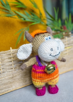 Giocattoli per bambini fatti a maglia fatti a mano, souvenir fatti a mano a maglia