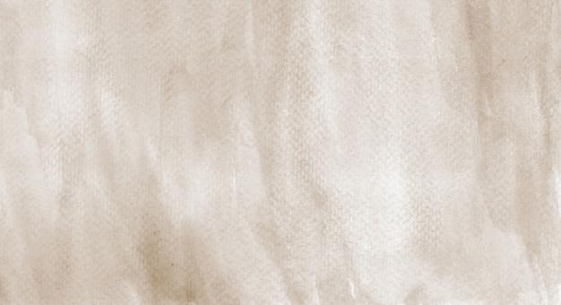 Pittura organica fatta a mano fondo astratto di struttura dell'acquerello marrone pastello hires scan file