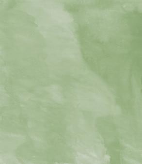 Dipinto ad acquerello organico fatto a mano fondo astratto di struttura verde pastello hires scan file