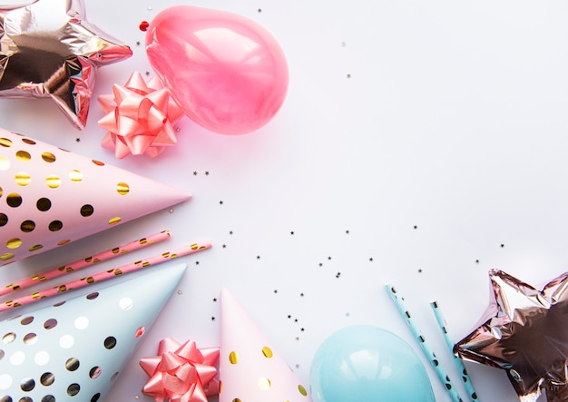 Sfondo di buon compleanno o festa