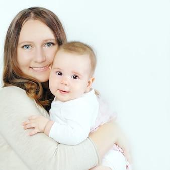 Famiglia felice - mamma con bambino