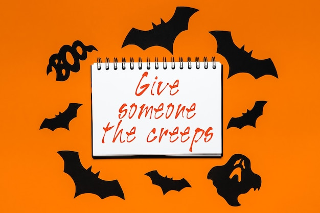 Felice concetto di vacanza di halloween