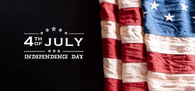 Felice giorno dell'indipendenza banner
