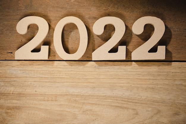 Felice anno nuovo 2022 vacanza sfondo e banner.