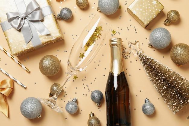 Accessori di felice anno nuovo