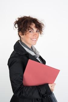 Donne d'affari felici e sorridenti