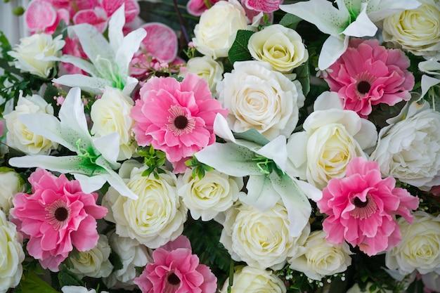 Buon san valentino sfondo. bellissime rose rosse