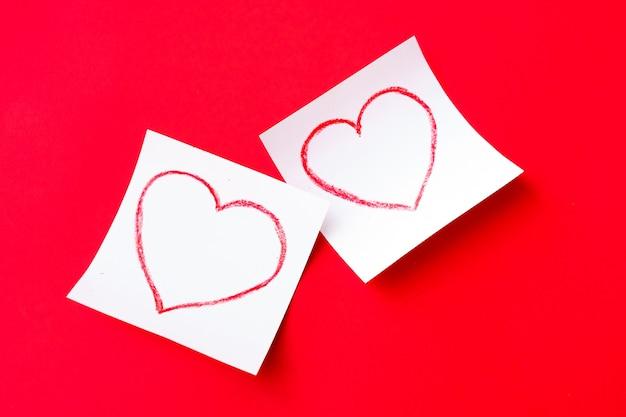 Buon san valentino 2021. cartoline di san valentino con cuore disegnato.
