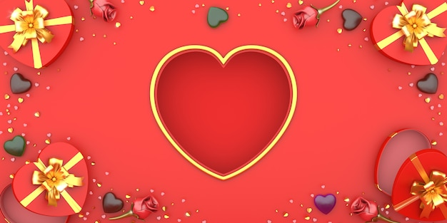 Buon san valentino sfondo