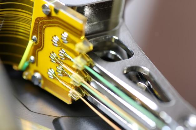Macro di riparazione dell'unità disco rigido