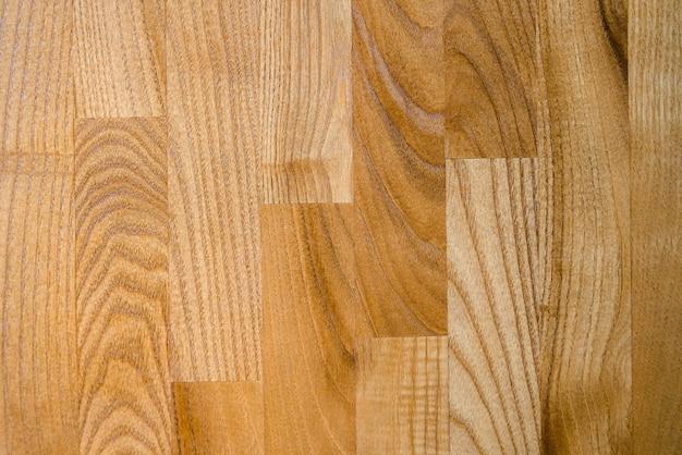Struttura in legno pavimento in legno duro.
