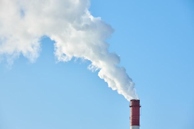Emissioni nocive da una fabbrica