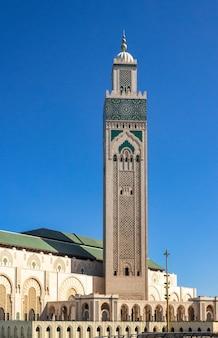 Moschea di hassan ii a casablanca in marocco