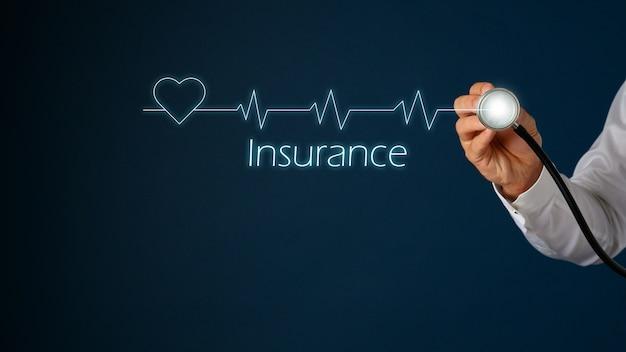 Concetto di assistenza sanitaria e assicurativa