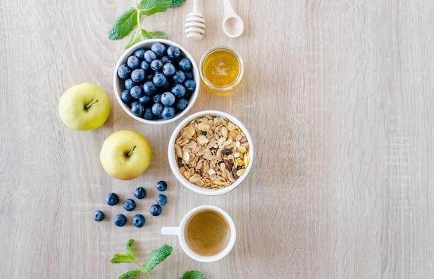 Set da colazione salutare